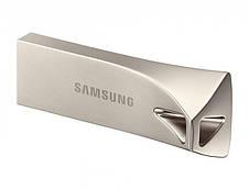 Флеш-накопитель USB3.1 64GB Samsung Bar Plus Champagne Silver (MUF-64BE3/APC), фото 2