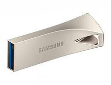 Флеш-накопитель USB3.1 64GB Samsung Bar Plus Champagne Silver (MUF-64BE3/APC), фото 3