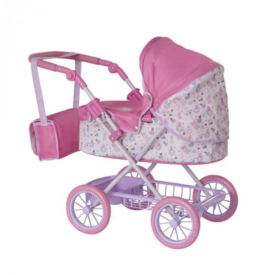Коляска для куклы BABY BORN - ПРОМЕНАД (складная, с сумкой) 1423577.TY