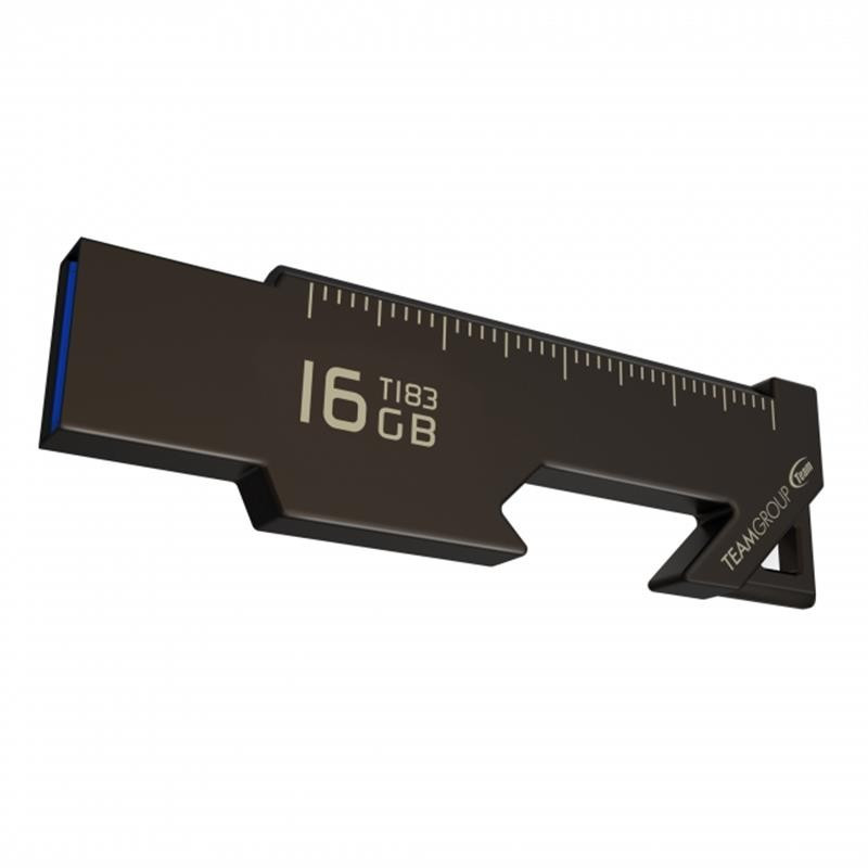 Флеш-накопитель USB3.1 16GB Team T183 Black (TT183316GF01)