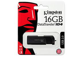 Флеш-накопитель USB 16GB Kingston DataTraveler 104 Black (DT104/16GB), фото 3