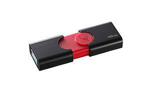 Флеш-накопитель 16 Гб Kingston DataTraveler 106 Black/Red USB 3.1 16GB флешка Flash память (DT106/16GB), фото 2