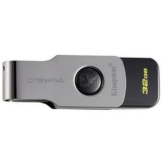 Флеш-накопитель USB3.1 32GB Kingston DataTraveler Swivl Black (DTSWIVL/32GB), фото 2