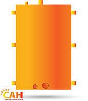 Буферная емкость для промышленных твердотопливных котлов объемом 5000 литров