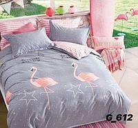 Полуторное постельное белье Голд мод.612
