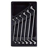 Набор ключей накидных 8-19 мм , 6 предметов