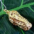 Серебряный кулон с позолотой Арахис - Брендовая серебряная подвеска с жемчугом Арахис, фото 10