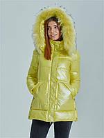 Модная зимняя женская куртка ZLLY 19565