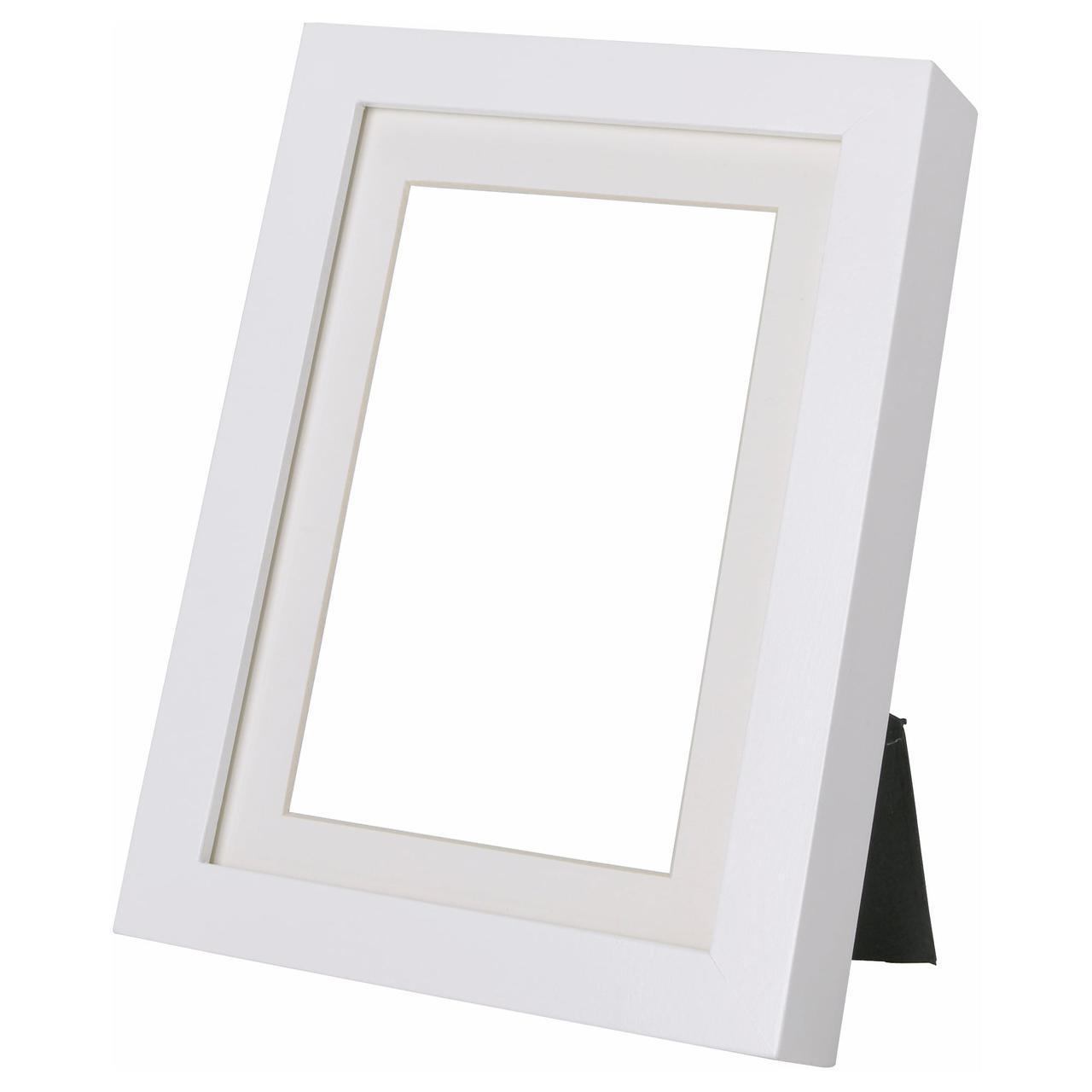 ✅ IKEA RIBBA (703.784.14) Рамка белая