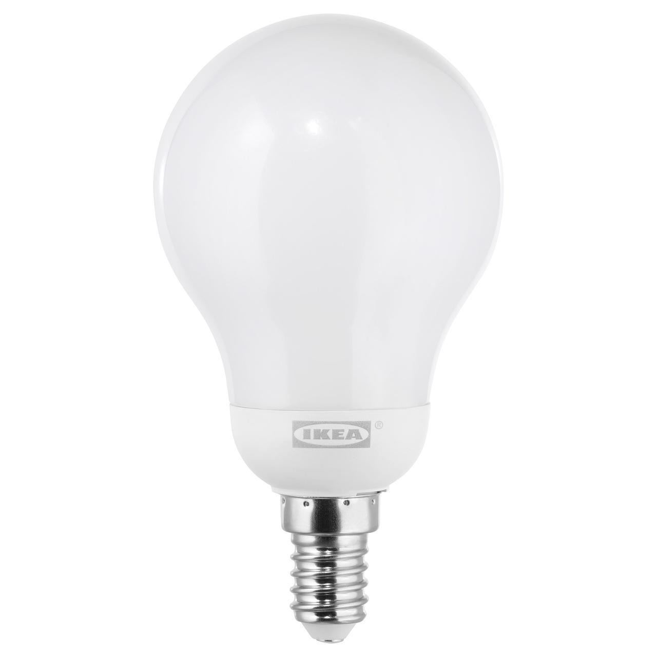 ✅ IKEA LEDARE (003.888.31) Светодиодная лампа E14 600 люмен