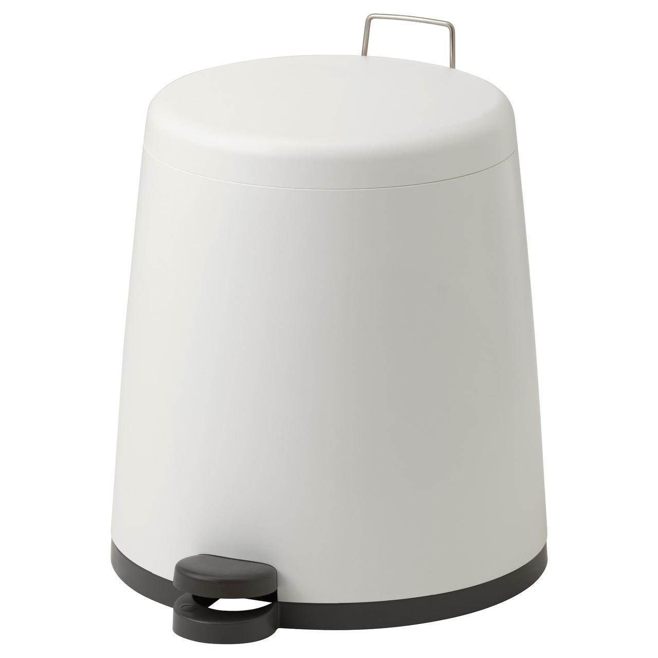 ✅ IKEA SNAPP (902.454.23) Мусорный бак, белый