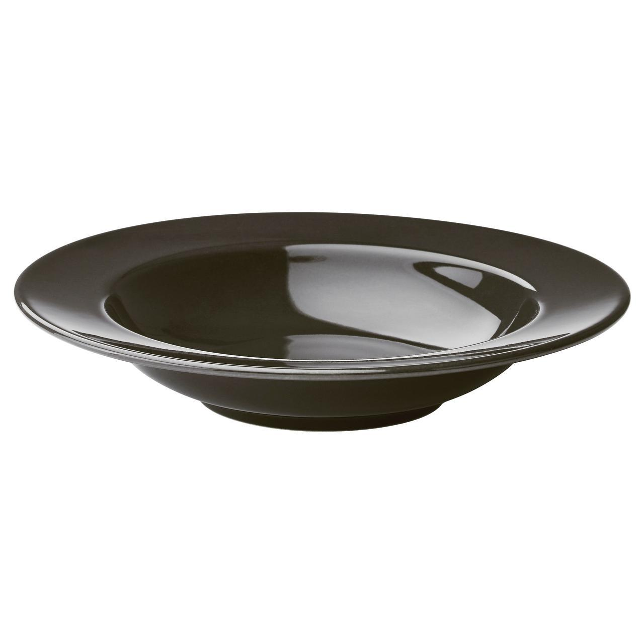 ✅ IKEA VARDAGEN (502.891.93) Глубокая, темно-серая пластина