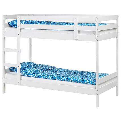 ✅ IKEA MYDAL (503.811.77) Кровать, белая