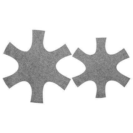✅ IKEA BEDOMA (803.256.51) Подкладка для сковороды комплект из 2 шт., Серый