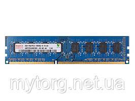 Оперативная память DDR3 2Gb PC10600 1333Mhz с чипом Hynix Для INTEL и AMD