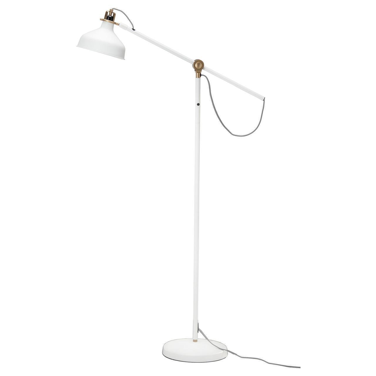 ✅ IKEA RANARP (202.313.06) Торшер, крем