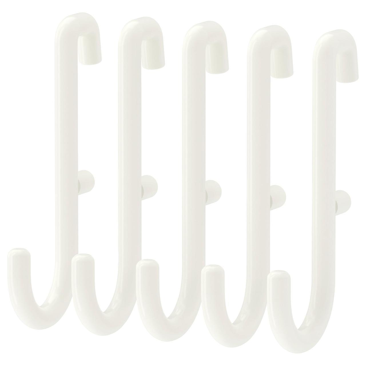 ✅ IKEA SKADIS (203.208.02) Крючок белый