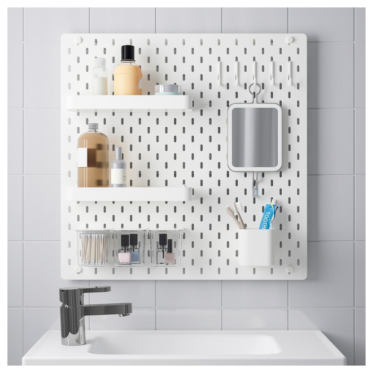 ✅ IKEA SKADIS (092.165.95) Перфорированная доска, белый