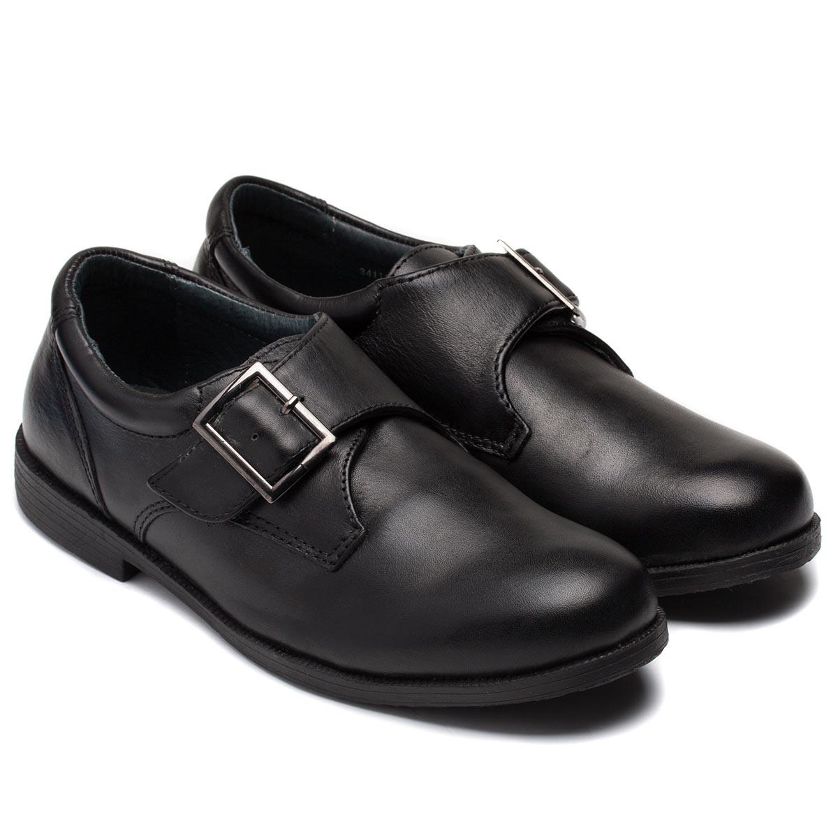 Кожаные школьные туфли Antilopa для мальчиков