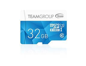Карта памяти MicroSDHC 32GB UHS-I Team Color Blue (TCUSDH32GUHS02)