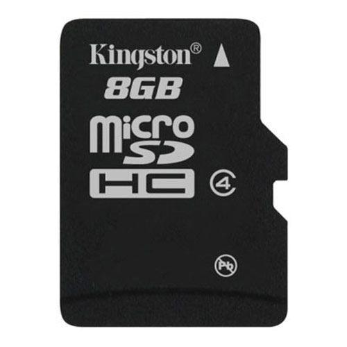 Карта памяти MicroSDHC 8GB Class 4 Kingston (SDC4/8GBSP)