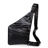 Мужская сумка рюкзак crossbody КроссБоди ЭКО кожа
