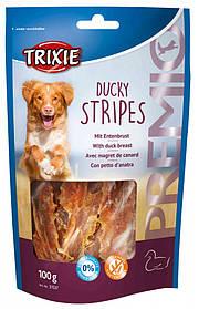Лакомство для собак утиные грудки Trixie Premio Ducky Stripes 100 г