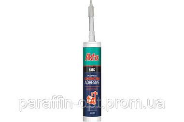 Клей конструкционный Akfix - 310 мл, для быстрой фиксации, бежевый 616C