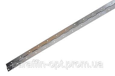 Петля рояльная Никифоров - 1000 мм, оцинкованная