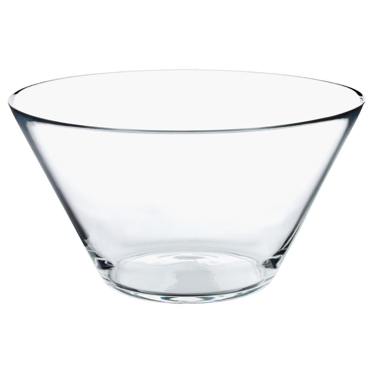 ✅ IKEA TRYGG (201.324.53) Миска, прозрачное стекло