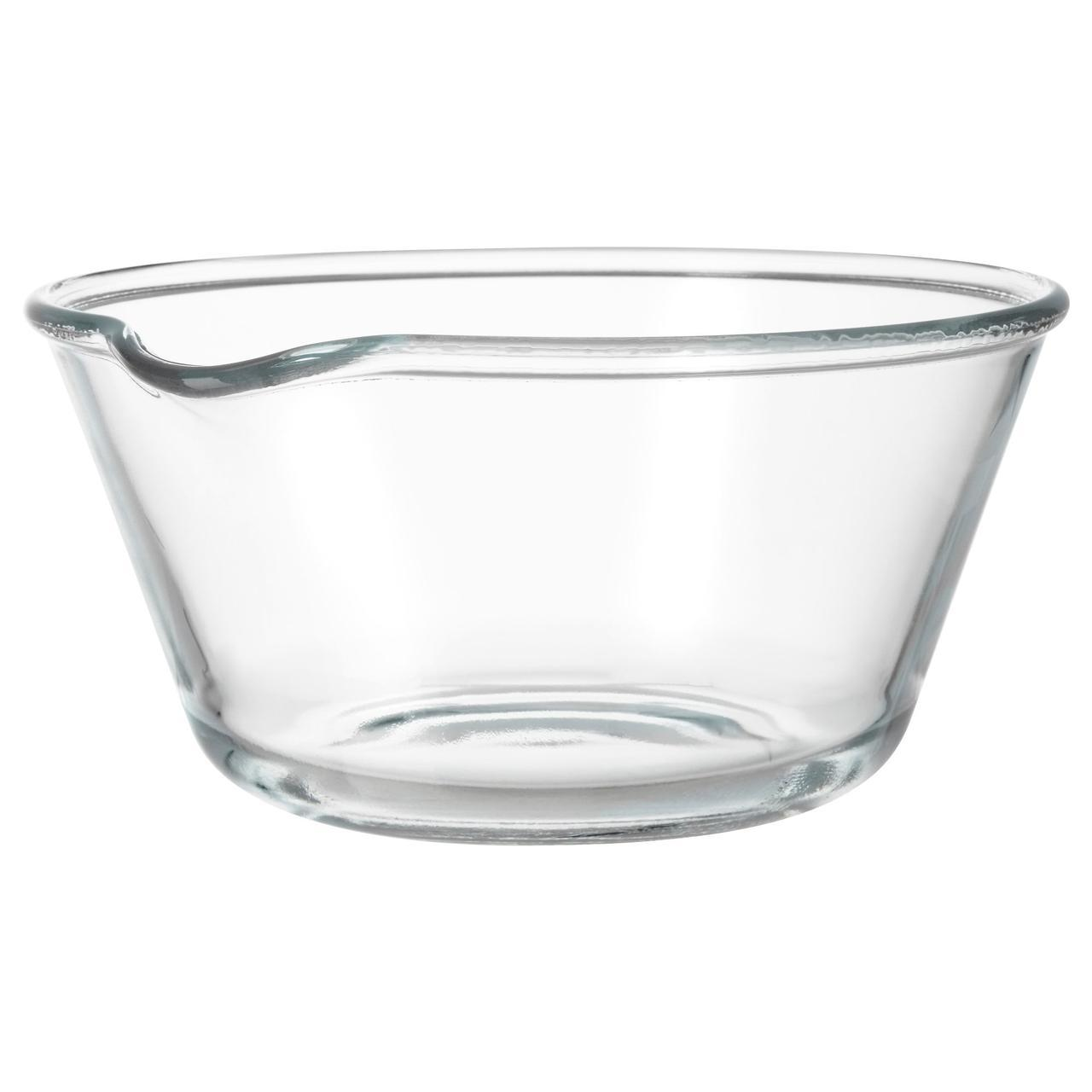 ✅ IKEA VARDAGEN (702.892.48) Миска, прозрачное стекло