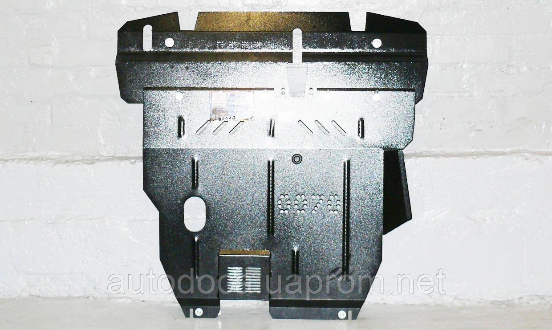 Защита картера двигателя и кпп Mitsubishi Outlander 2.0T 2005-