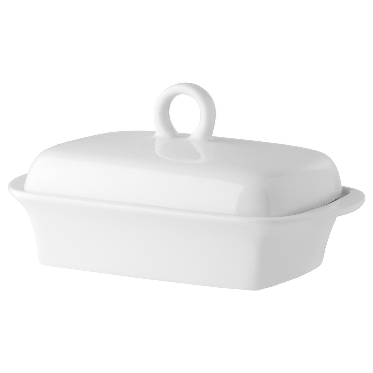 ✅ IKEA BEGAVAD (701.552.96) Масленка, белое