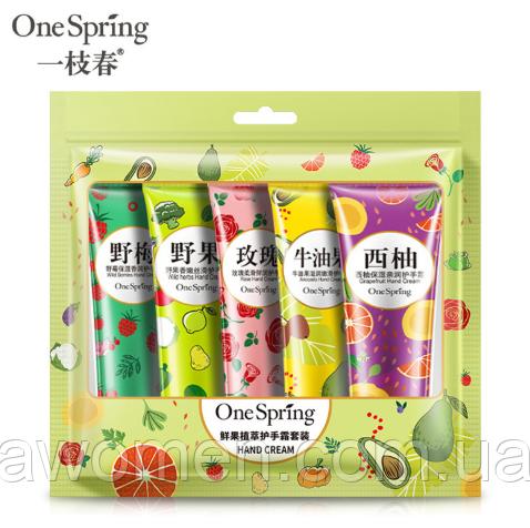 Набор кремов для рук One Spring (5 штук)