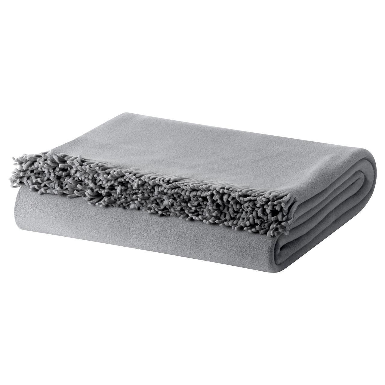 ✅ IKEA SKELORT (603.420.86) Плед, серый