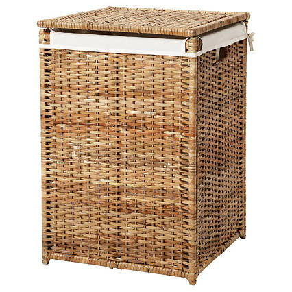 ✅ IKEA BRANAS (202.147.31) Корзина для белья, ротанга
