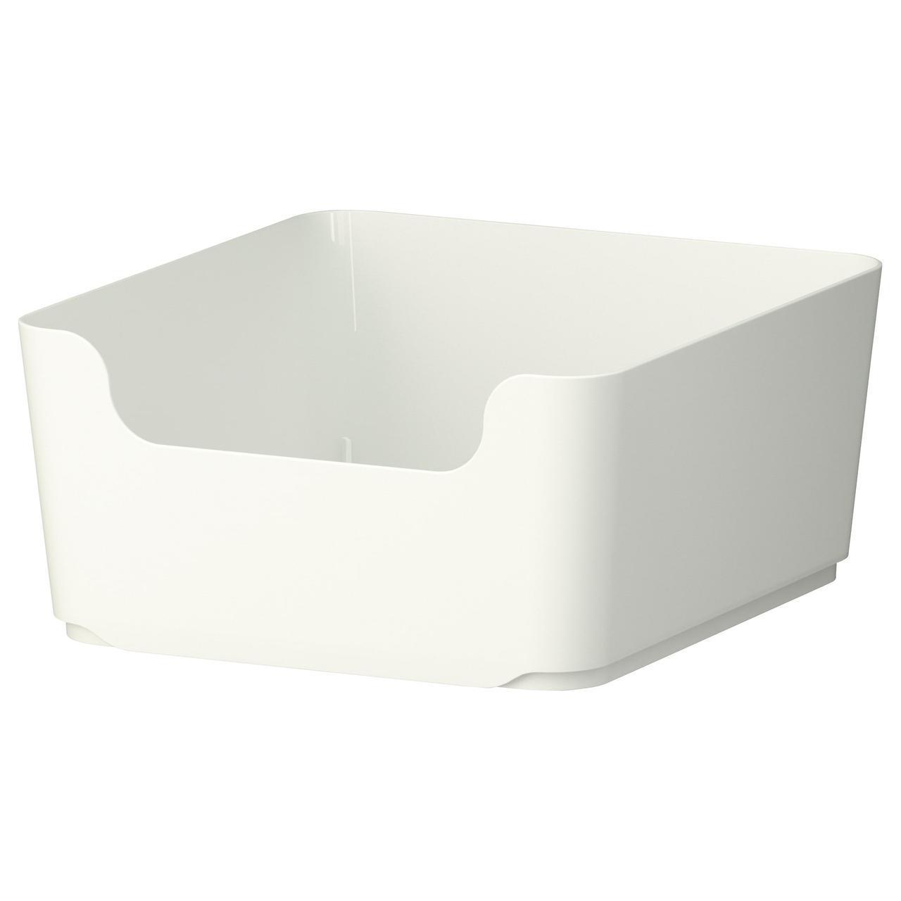 ✅ IKEAUGGIS (402.347.09) Мусорный ящик, изолированный, белый