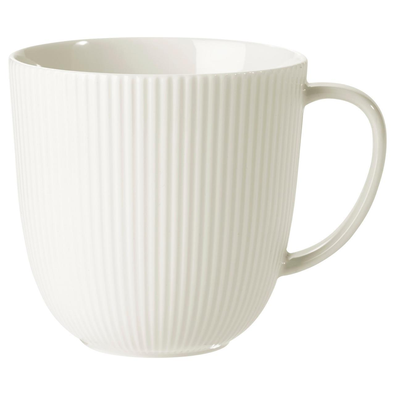 ✅ IKEA OFANTLIGT (003.190.22) Кружка, белая