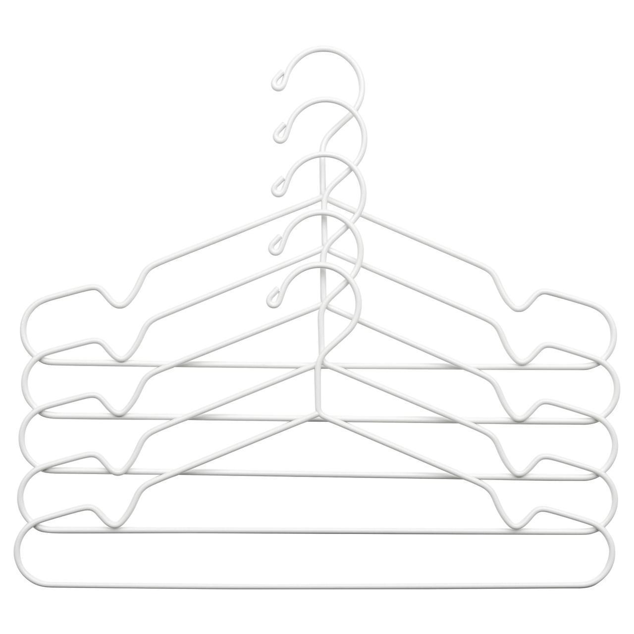 ✅ IKEA STAJLIG (002.914.19) Вешалка, белый