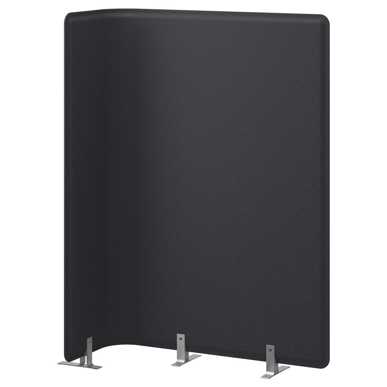 ✅ IKEA BEKANT (702.688.11) Экран д/письменного стола, серая