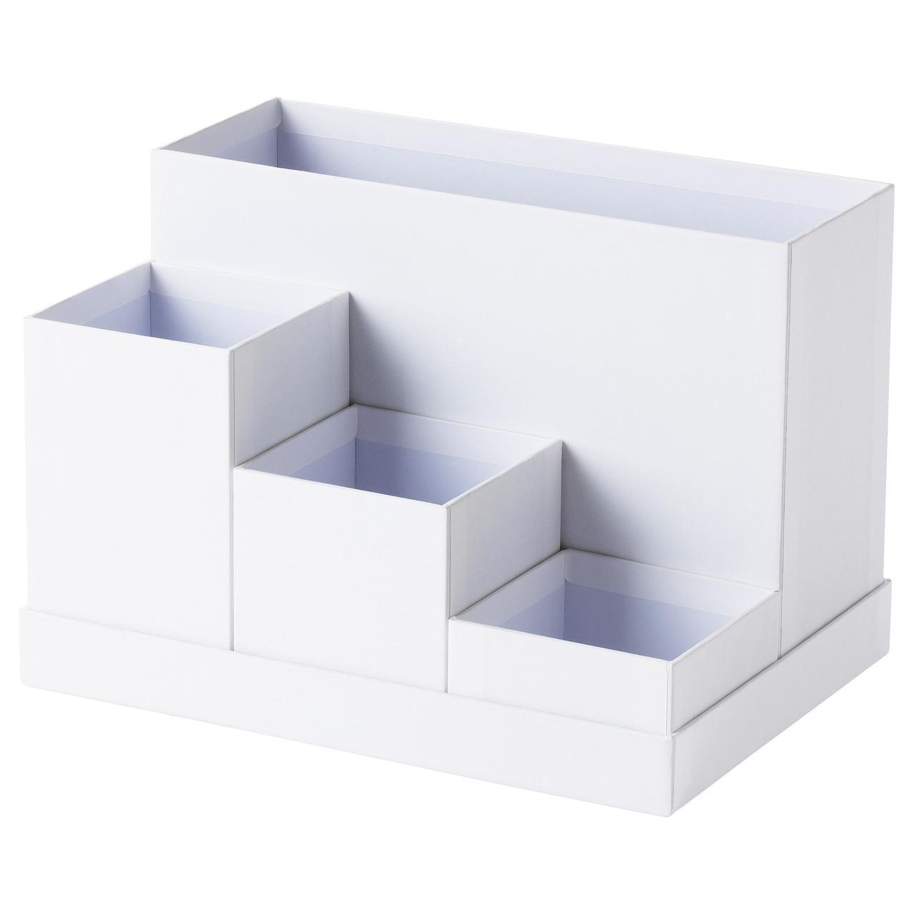 ✅ IKEA TJENA (603.954.52) Настольный организатор, белый