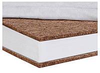 Матрас кокосовый в детскую кроватку Солодких Снів Gold Comfort Premium - 12 см. (кокос, полиуретан) белый