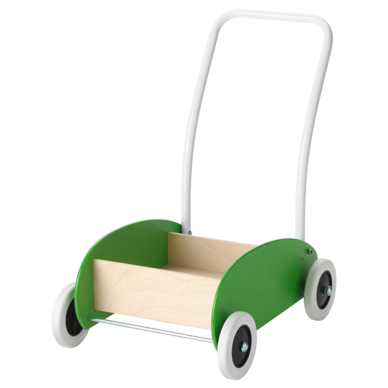 ✅ IKEA MULA (302.835.78) Коляска, зеленая