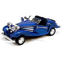 Машинка металева Ретро (синя)