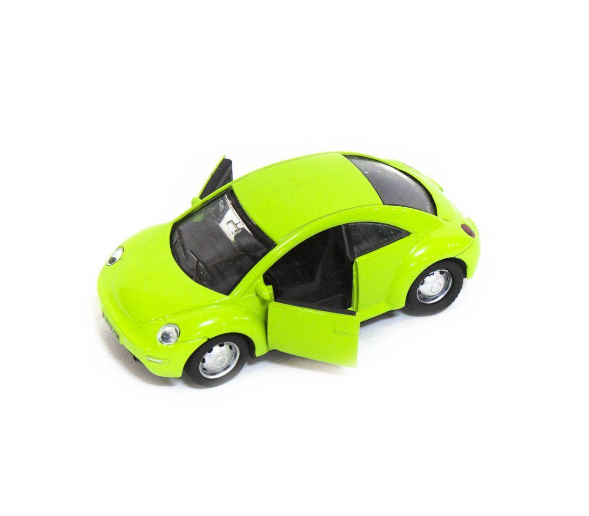 Машина металлическая Volkswagen Beetle (салатовая)