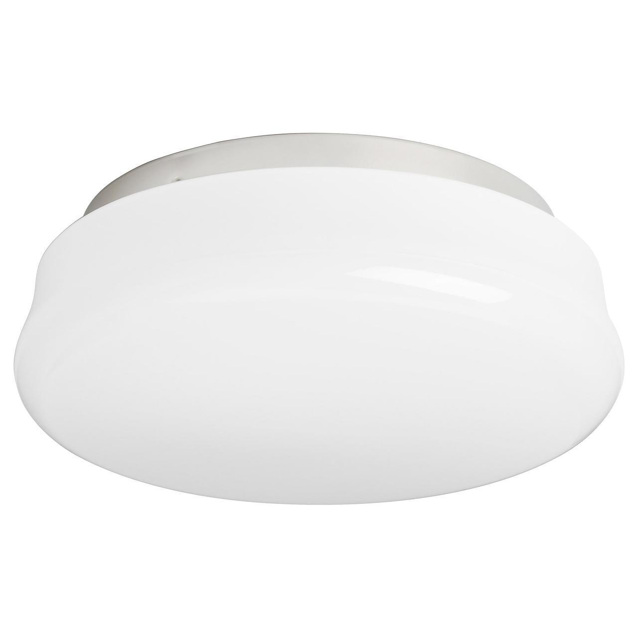 ✅ IKEA GASGRUND (402.238.57) Потолочная лампа, опаловый белый