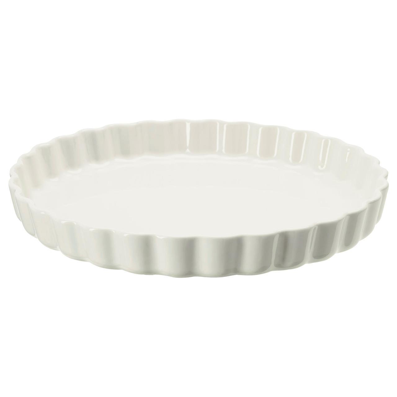 ✅ IKEA VARDAGEN (102.893.07)  Форма для открытого пирога сливки
