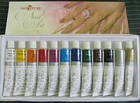 Набор акриловых красок для рисования Van Pure, 12 шт