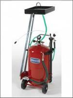 Комбинированная установка для замены масла емкостью 80л.и стальным сливом для масла 10л.