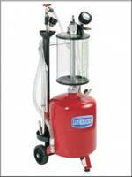 Установка вакуумного отбора масла емкостью 24л. с предкамерой 6,5л.